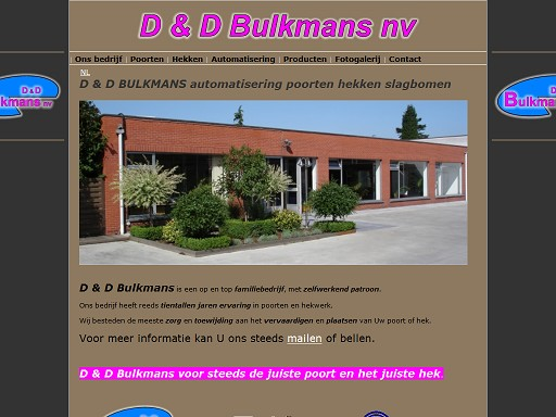 D & D BULKMANS NV