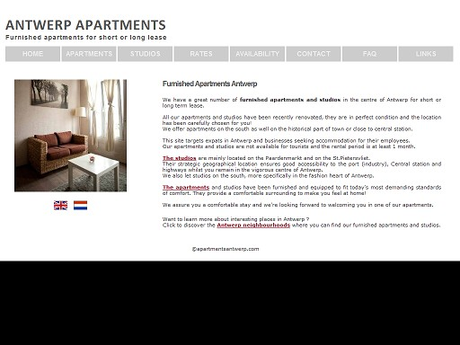 Antwerp Apartments cover