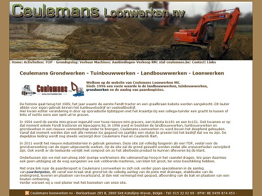 Ceulemans loonwerken nv cover